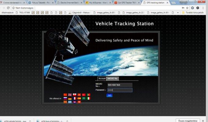 gps nyomkövető, gps tracker